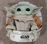 "Star Wars Mattel The Child Baby Yoda Mandalorian 11"" Plush Doll Toy IN HAND NOW"