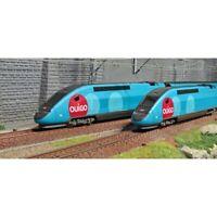 """JOUEF HO 1:87 TGV Duplex livrea """"OUIGO"""" Confezione 4 elementi"""