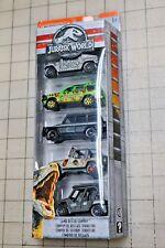 Matchbox Jurassic World 5-Pack Mercedes Benz G Wagon Black Hummer H1 Jeep New