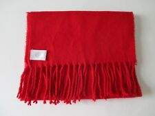 Beautiful Soft Red Acrylic Winter Scarf