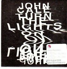 (BM987) John Cale, Turn The Lights On - 2005 DJ CD