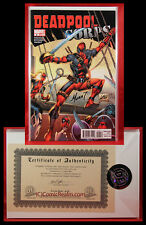 Deadpool Corps #6 Signed by Marat Mychaels 66/150 COA Sealed NM/M+!