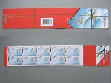 ICELAND, booklet MNH 2004, Jol Christmas welfare , bird
