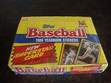 1988 Topps Baseball Stickers Box---48 Packs---Sealed Box