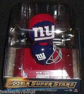 NY New York Giants Solar Super Stars NFL 2010 Motion Mini Helmet