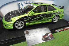 HONDA CIVIC Si Custom Vert super street 1/18 HOT WHEELS 54571 voiture miniature
