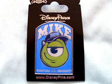 Disney * MIKE - MONSTERS UNIVERSITY * New on Card Character Trading Pin