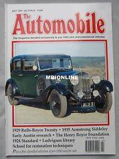 The Automobile magazine 07/1994 featuring Rolls Royce, Standard