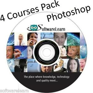 Learn ADOBE PHOTOSHOP Tutorial Training ONLINE AND CD