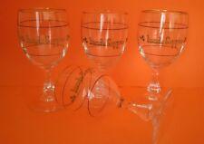 Vintage Irish Coffee 4 gold rimmed, Glasses GC