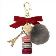 《日本代购》 - LADUREE 2017 Christmas Limited Key Ring (Jules de Fett) Fur Bag Charm