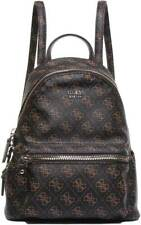 Guess Leeza Logo Backpack In Brown
