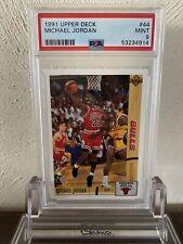 1991 Upper Deck Michael Jordan 44 PSA 9