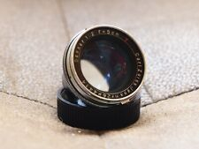Carl Zeiss Ikon Contax RF Sonnar f2 50mm, for rangefinder, red T coating