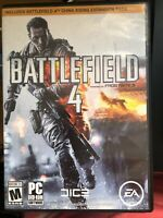 Battlefield 4 Limited Edition Includes China Rising Expansion Pack PC DVD-ROM