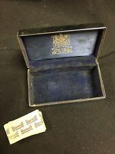 Vintage Wilkinson Sword Co Crome Razor Case W/Blades