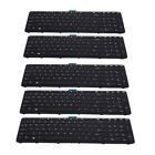 5 Pieces US Keyboard Replacements NO POINT For HP ZBOOK 15 G1 G2 17 G1 G2
