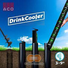 ACO Drink Cooler black Erdloch Bierkühler für 9 bzw. 5 Getränkedosen, Hopfen NEU