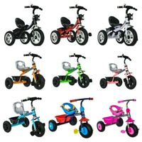 BABY KID CHILDREN TODLLER TRICYCLE RIDE ON TRIKE 3 WHEEL SCOOTER STROLLER TOY