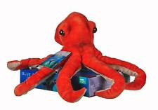 "NEW 10"" BBC EARTH BOXED OCTOPUS SOFT TOY BLUE PLANET"