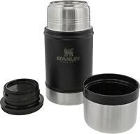 Stanley Legendary Black Dishwasher Safe Stainless Classic Food Jar 7936002