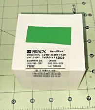 Brady Handimark 2 X 50 Ft Green Vinyl Tape 42029 Signmark Div New Box Y6092