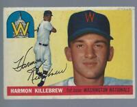 1955 Topps Harmon Killebrew RC #124 EX+