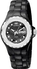 New $3400 TECHNOMARINE TM 111054 Watch Ceramic Case & Bracelet 0.88 ct Diamonds