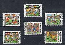 Tanzania Deportes Mjndial de Futbol año 1994 (CQ-218)