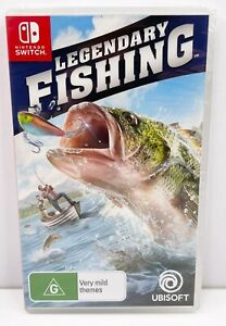 Legendary Fishing Nintendo Switch Game AUS CODED NEW & SEALED
