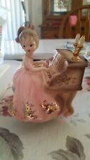 """Josef Originals Girl """"Tammy"""" playing piano music box"""