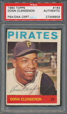 1964 Topps #163 Donn Clendenon PSA/DNA Certified Authentic Auto Autograph *9909