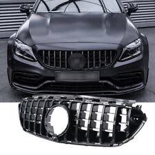 GT Panamericana Kühlergrill Mercedes W213 S213 E63 AMG NUR ganz schwarz