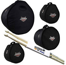 Ahead Armor ARSET-3 Tamburo Case Set 22x18/10x8/12x9/16x16 + Keepdrum