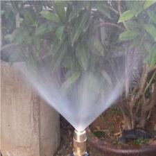 Equipment Garden Lawn Irrigation Sprinkler Head Brass Misting Nozzle Spray