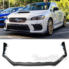 For 18-Up Subaru Impreza WRX STi Front Bumper Lower Lip Splitter V-LIMITED Style