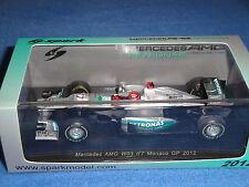 M. Schumacher 2012 Monaco Mecedes AMG Spark Modèle 1:43 s3042