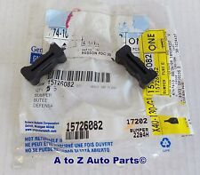 NEW 1994-2004 Chevrolet S10,GMC Sonoma Tailgate RUBBER LATCH BUMPERS (2),OEM GM