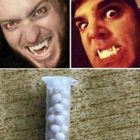 Devil Halloween Vampire Tooth Fangs Props Scary Party Dentu Q8R8 spoof L2E1 Z8F0