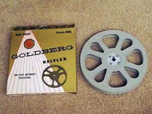 "16mm 400 ft. Plastic Movie Reel 7"" x 3/4 inch Empty Take-up Reel"