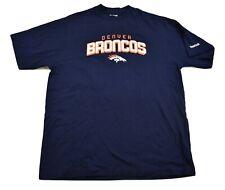 Reebok NFL Mens Denver Broncos Football Shirt New M