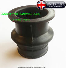 ROYAL ENFIELD CARBURETTOR AIR FILTER DISTANCE RUBBER INLET OUTLET 40MM LONG55MM