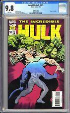 "Incredible Hulk #425 CGC 9.8 WP 1995 3802375007 ""Death"" of Achilles Hologram"