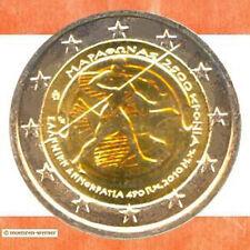 Sondermünzen Griechenland: 2 Euro Münze 2010 Marathon Sondermünze Gedenkmünze GR