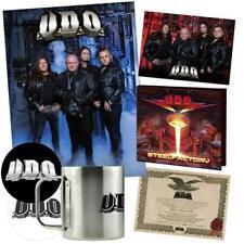 AUTOGRAPHED U.D.O. udo accept STEELFACTORY BOXSET box set w/ cd mug coa poster