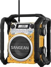 Sangean Rugged Bluetooth FM/AM RBDS Emergency NOAA Weather Radio Alarm AUX USB