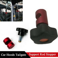 Car Hood Cover Trunk Lid Rod Lift Damper Shock Strut Stopper Retainer No Slide
