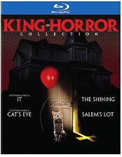 PRE ORDINE: King Of Horror (Stephen King 4 FILM) Blu-Ray - SIGILLATO