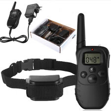 300 Yard Waterproof Shock Vibra Training Collar for Small Med Large Dog Remote