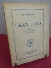 REGION NORD / Léon Moreel TRADITIONS Préface du Duc de la Force